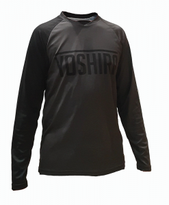 Yoshira Granite and Black Enduro MTB Jersey