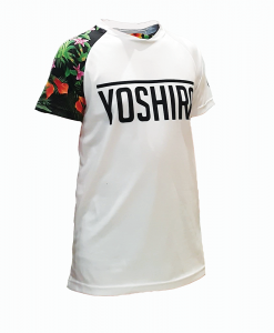 Yoshira Tropical Short Sleeve Enduro MTB Jersey Front